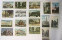 vintage Postcard Religious Buildings Posted And Unposted 40's 50's