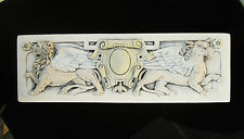 Bull Lion Evangelist Garden Arts & Crafts Gothic Ellison Tile