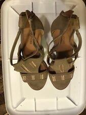 Maurice's Women Heels Size 7 Regular Brown Well Worn Shoes