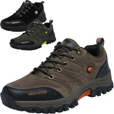 MENS QUALITY OUTDOOR HIKING BOOTS WALKING ANKLE TRAIL TREKKING SNEAKERS SHOES