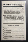Original Germany Leaflet Dropped On USA Troops One Minute To Save You