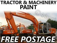 Tractor Agri Enamel Paint Hitachi Orange Excavator 1LT