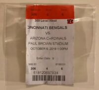 NFL Ticket Cincinnati Bengals vs. Arizona Cardinals Saison 2019 USA NBA MLB