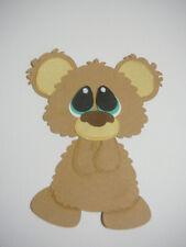 scrapbooking embellishment Bubbles the Bear