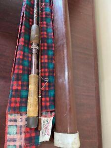 Vintage FENWICK 6' WOODSTREAM Fishing Rod FS61 1-4 lb Line 1/16-1/4 Lure w/ Case