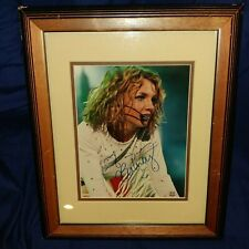 (YOUNG) BRITNEY SPEARS | HAND SIGNED AUTOGRAPH | 17X14 PHOTO | FRAMED & MATTED