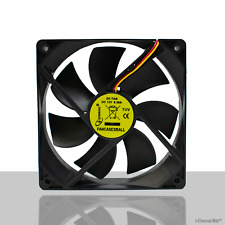Gembird PC Silent Case Fan / 120mm / 12cm Quiet Computer Fan / Ball Bearing