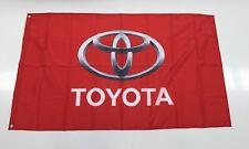 Toyota Style 2 Banner Flag Car Landcruiser Hilux Mechanic Workshop Man Cave 4x4
