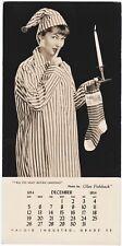Salesman Sample Haloid Industro Photo by Glen Fishback Pinup Girl Christmas 1954