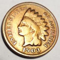 Coin - 1903 Indian Cent - MS 1C Regular Strike - Envelope 2