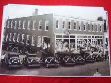 1930 1931 FORD DEALER WITH NEW CAR LINE UP  11 X 17  PHOTO  PICTURE