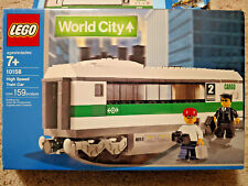 LEGO World City 9V High Speed Train Car (10158) [100% Complete w/ Manual + Box]