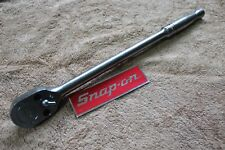 "Snap On Tools 1/2""  Chrome Handle Ratchet SL80A 15"" GREAT CONDITION"