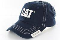 Cat Caterpillar Navy Logo Cap CATC100455