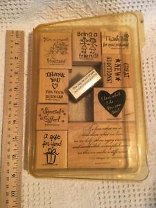 Stampin' Up Business Consultant Demonstrator Home Party Stamp Set