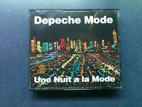 Depeche Mode - Une Nuit a la Mode - 2 CD Big Box 1990 - 1 Press / TOP - ZUSTAND