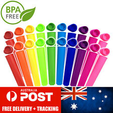 20 Pack Silicone Ice Block Moulds / Ice Cream Molds / Icy Pole