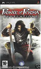 PRINCE OF PERSIA REVELATIONS for PSP - with box & manual