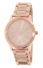 NWT MICHAEL KORS Hartman Rose Gold-Tone Stainless Steel Ladies Watch MK3491