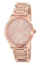 NWT MICHAEL KORS Hartman Rose Gold-Tone Stainless Steel Ladies Watch MK3491