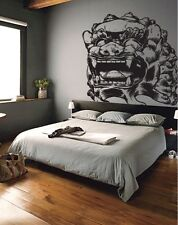 Vinyl Wall Decal Sticker Asian Chinese Dragon Statue Lg