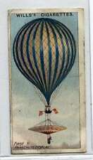 (Jd157-100)  Will's, Aviation , First Parachute Display, 1910, #5