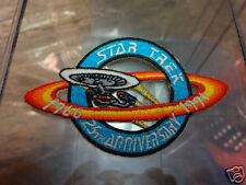 Star Trek 25th Anniversary Logo USS Enterprise-D Patch P202