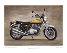 Motorcycle Limited Edition Print - Kawasaki Z1 - Classic Bike Artwork Steve Dunn