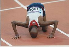 Mo Farah  Unsigned 12x8 inch photo Olympics London 2012, No.4