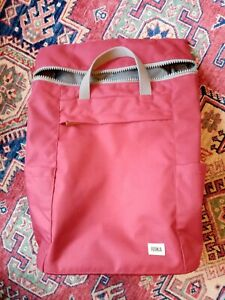 Roka London Finchley large volcanic Red VGC Backpack