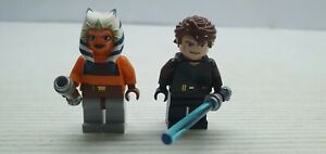 Star wars Lego 8037 or 7675 Ashoka Tano & Anakin Skywalker minifigure VGC