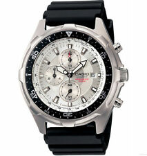 Casio AMW330-7AV, Analog Watch, Chronograph, Black Resin, Date, 100 Meter WR