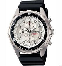 Casio AMW330-7AV, Analog Watch, Chronograph, Black Resin, Date, 100 Meter WR