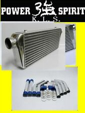 2 inch intercooler 550x180x65 + piping/hose/clamp kit Landcruiser/hilux/prado
