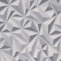 Erismann - Mix Up 3D Effect Geometric Luxury Textured Wallpaper - Grey 6478-15