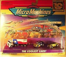 """COOL & SUPER SCARCE! """"HEB SEMI-TRUCK & VEHICLE COLLECTION"""" GALOOB MICRO MACHINES"""