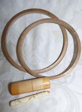 Lot Anciens Accessoires de Couture dont 2 Porte Aiguilles à Coudre