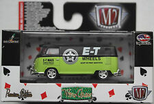 "M2 Machines - 1960 VW T1 Transporter USA grün/schwarz ""E-T Wheels"" Neu/OVP"