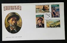 BAILIWICK OF GUERNSEY - 1974 RENOIR PAINTINGS  FDC (NoL305)