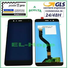LCD DISPLAY HUAWEI P10 LITE WAS-LX1 LX1A TOUCH SCREEN SCHERMO VETRO NERO