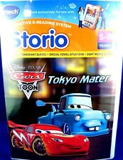 NEW (Sealed) DISNEY V-TECH STORIO Cars 2 TOKYO MATER Interactive Reading Games