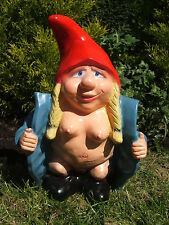 LATEX MOULD MOULDS MOLD.     LARGE MRS FLASHER GNOME