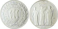 SAN MARIN   10  EURO  ARGENT  2002  LES  3  GRACES  EN CAPSULE D'ORIGINE ,  FDC