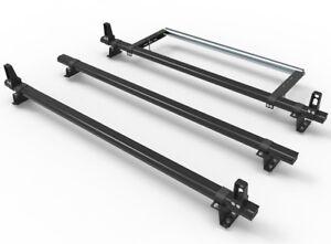 Ford Transit Custom Van 3 Bars Roof Rack  + stops + rear roller guard DM86LS+A30