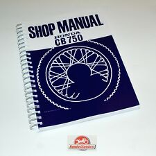 Honda Factory Workshop Shop Manual Book CB750 750/4 SOHC, Reproduction. HWM003