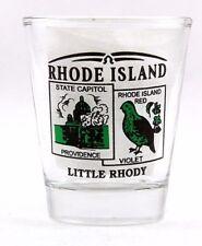 RHODE ISLAND STATE SCENERY GREEN NEW SHOT GLASS SHOTGLASS