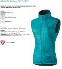 NEW Dynafit Radical Primaloft Womens Medium Blue Insulator Ski Vest Msrp$160