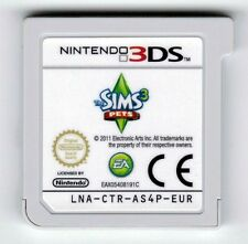 THE SIMS 3 PETS NINTENDO 3DS 2DS GAME CARTRIDGE CART ONLY