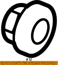 FORD OEM Rear Bumper-Bumper Bracket Nut W708634S440