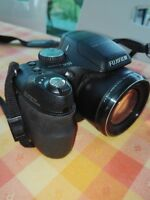 Fujifilm FinePix S Series S2000HD 10.0MP Digital Camera - Black